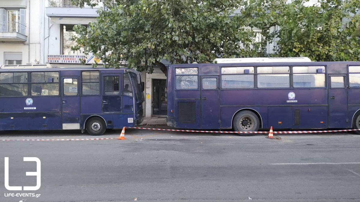 ΔΕΘ 2019: Κάγκελα και κλούβες παντού – Δρακόντεια τα μέτρα στη Θεσσαλονίκη