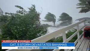 """Κυκλώνας Ντόριαν: """"Χειρόφρενο"""" πάνω από τις Μπαχάμες! Νεκροί και τραυματίες"""