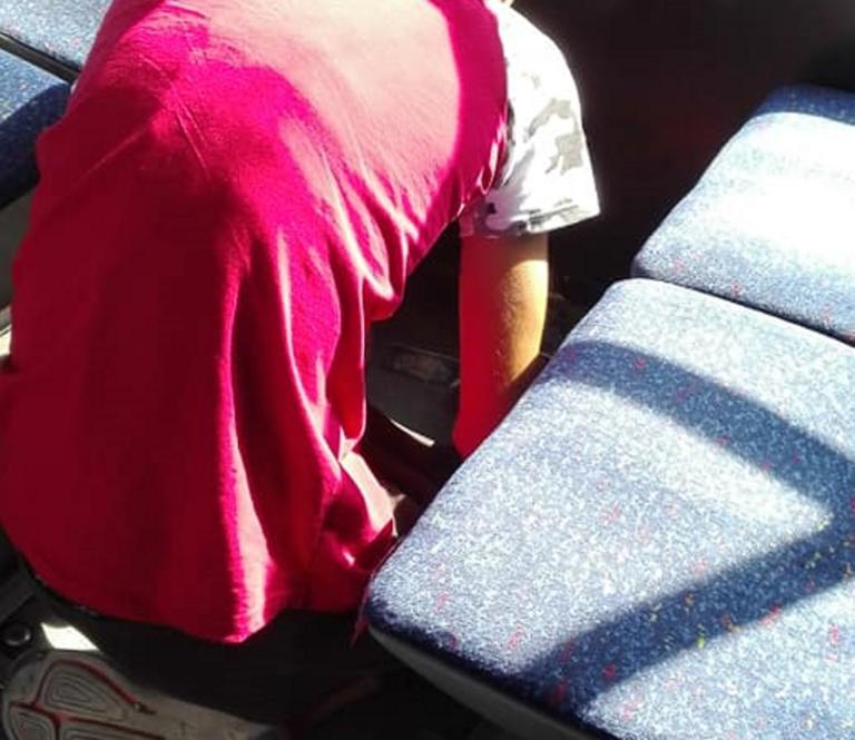 Θεσσαλονίκη: Εικόνες που σοκάρουν σε λεωφορείο του ΟΑΣΘ – Η αρχική έκπληξη που έγινε θλίψη [pics]