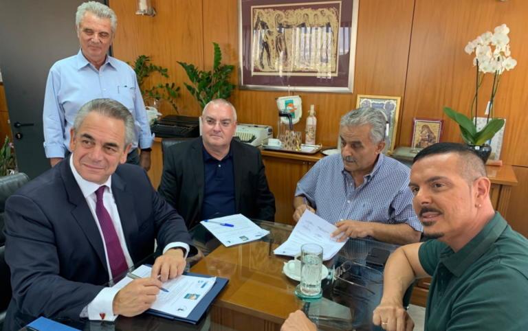 Θερμοκοιτίδα νέων επιχειρήσεων: Μνημόνιο συνεργασίας ΕΒΕΑ, Δήμου Αγίας Βαρβάρας και Πανεπιστημίου Αττικής