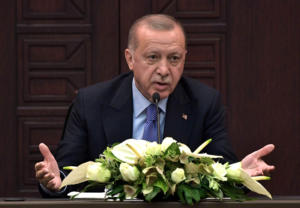 Ερντογάν: «Βρυχάται» ξανά! «Ο πλούτος της Κύπρου δεν τους ανήκει»