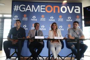 Nova: Η EuroLeague με Ολυμπιακό και Παναθηναϊκό ΟΠΑΠ είναι εδώ μέχρι το 2023!