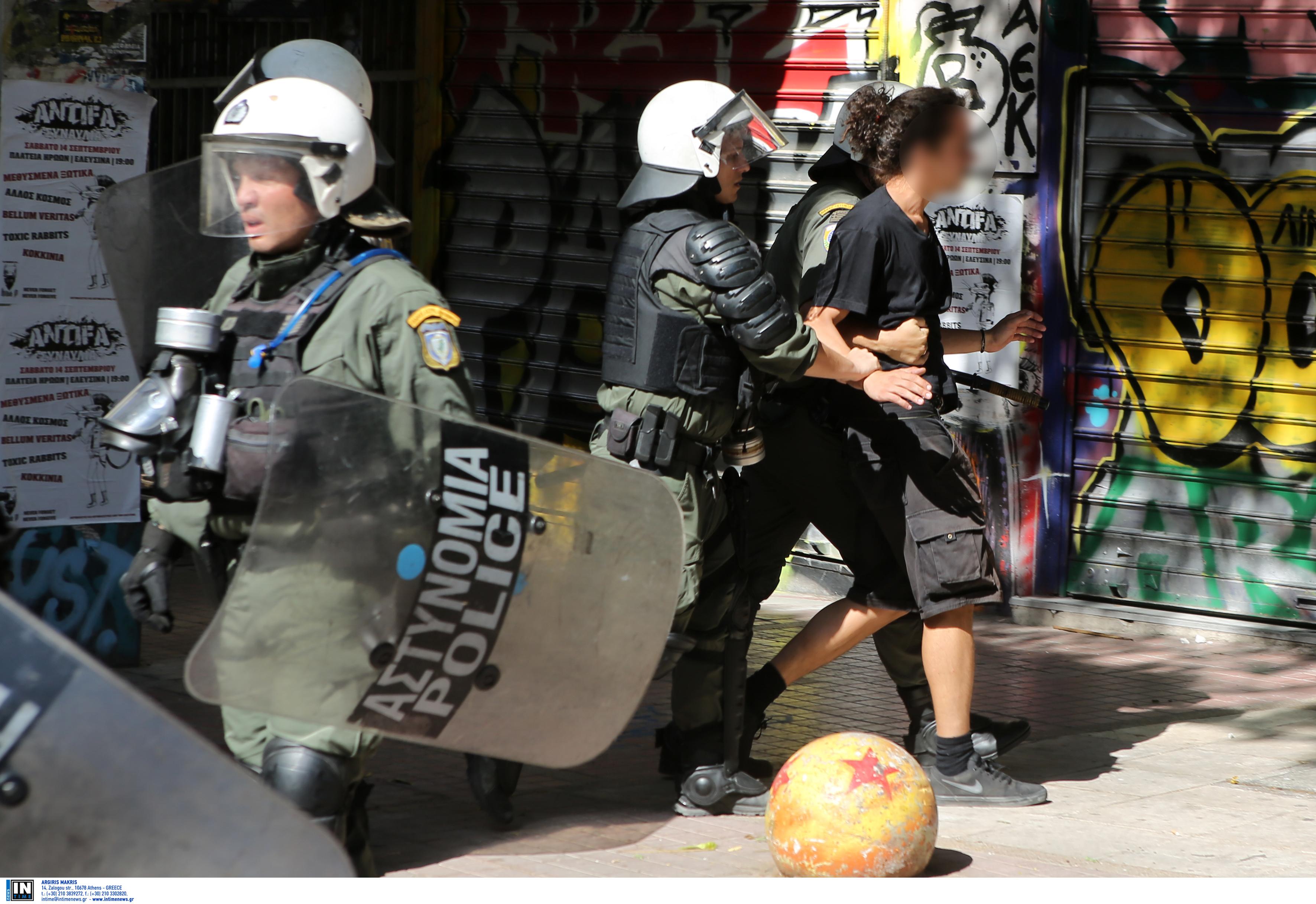 Εξάρχεια: Στον εισαγγελέα οι συλληφθέντες για τα επεισόδια