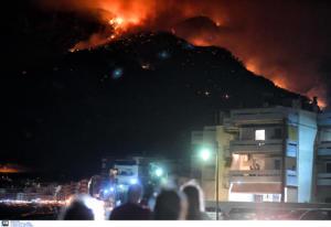 Εθνικό Αστεροσκοπείο: Κάηκαν 7.500 στρέμματα στη Ζάκυνθο και 3.000 στο Λουτράκι