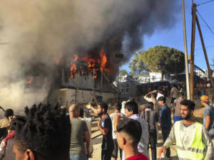 «Εμπρησμός η φωτιά στη Μόρια» – Απίστευτη καταγγελία από τον πρόεδρο των Πυροσβεστών