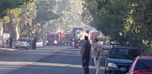 Φωτιά στις Αχαρνές: Άνοιξε η Λεωφόρος Πάρνηθας