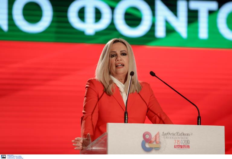 """Για """"ομερτά"""" κατηγορεί η Γεννηματά ΝΔ και ΣΥΡΙΖΑ! Τι είπε για τον εκλογικό νόμο"""
