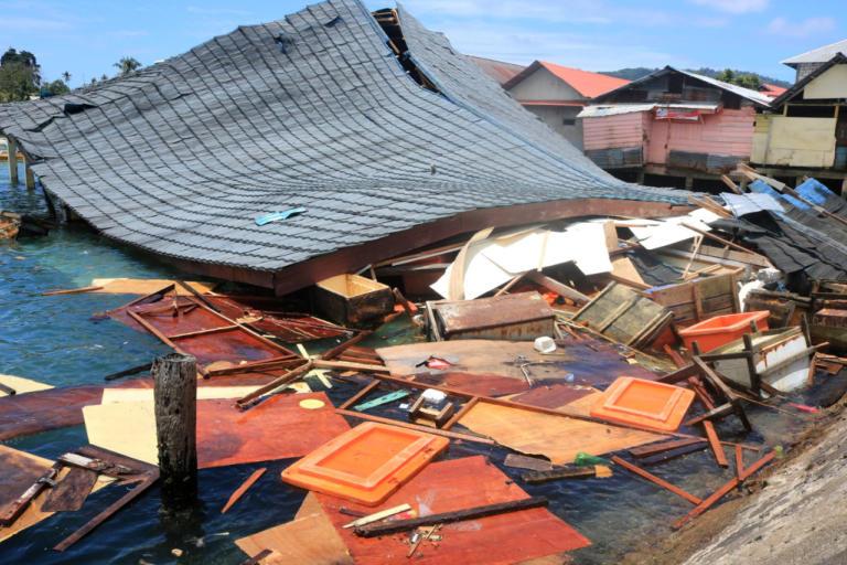 Σεισμός στην Ινδονησία – Ένας νεκρός και ένας αγνοούμενος