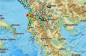 Σεισμός στην Αλβανία: Ταρακουνήθηκαν πολλές περιοχές της Ελλάδας