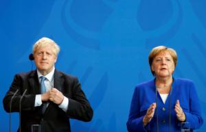 Συμφωνία για το Brexit ψάχνουν Μέρκελ και Τζόνσον