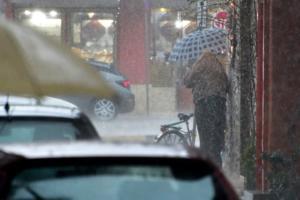 Καιρός: Νέο έκτακτο δελτίο από την ΕΜΥ – Καταιγίδες, χαλαζοπτώσεις και ισχυροί άνεμοι
