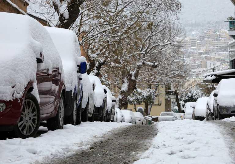 Ο καιρός στην Αθήνα σήμερα (2021-02-15)