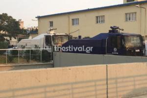 ΔΕΘ: Έφτασαν από Αθήνα τα κανόνια νερού για το ενδεχόμενο επεισοδίων