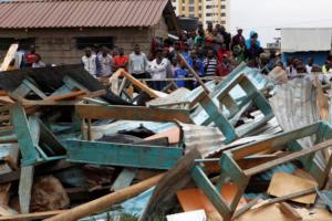 Ανείπωτη τραγωδία στην Κένυα: Κατέρρευσε σχολική αίθουσα, σκοτώθηκαν επτά παιδιά
