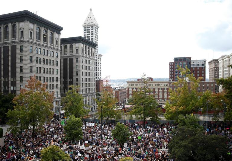 Εκατομμύρια διαδηλωτές σε όλο τον κόσμο για το κλίμα