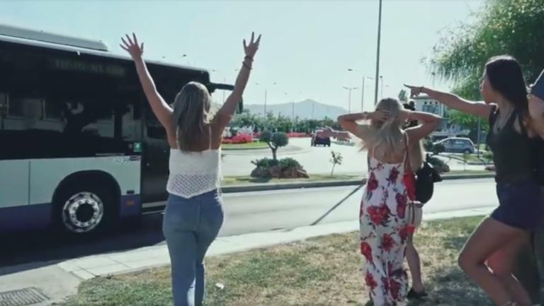 Βόλος: Δείτε το απίστευτο βίντεο των αστικών ΚΤΕΛ
