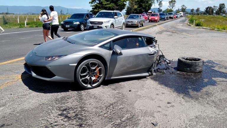 Τρομακτικό ατύχημα με Lamborghini να κόβεται στη μέση ύστερα από σύγκρουση [vid]