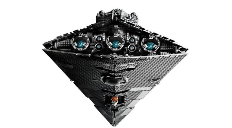 Το Imperial Star Destroyer του «Πολέμου των Άστρων» με 4.784 κυβάκια Lego