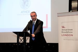 Σε «δωμάτιο πανικού» ο Χρήστος Σταϊκούρας στο Λονδίνο – Θα δει 70 επενδυτές