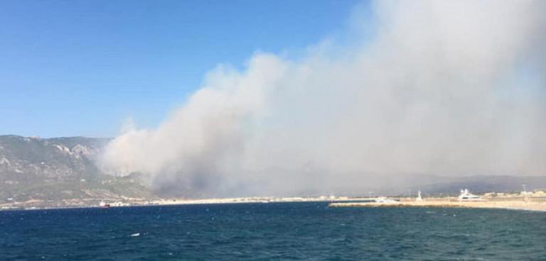 Λουτράκι: Ανεξέλεγκτη η φωτιά στα Γεράνεια! Κίνδυνος πυρκαγιάς σε έξι περιφέρειες την Κυριακή