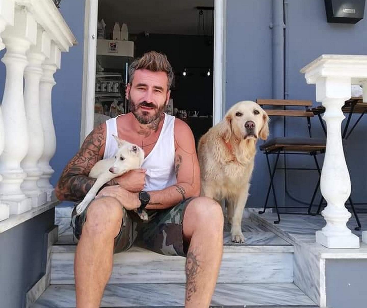 Και επίσημα «μπαμπάς» της Παλόμα ο Μαυρίδης - Νέα στοιχεία για τα μαρτύρια που πέρασε η σκυλίτσα [pics]