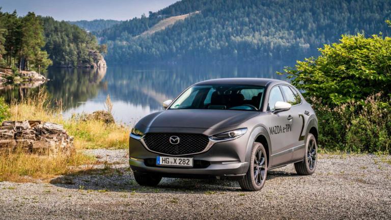 Mazda e-TPV: Ένα ηλεκτρικό CX-30 επεκτεινόμενης αυτονομίας
