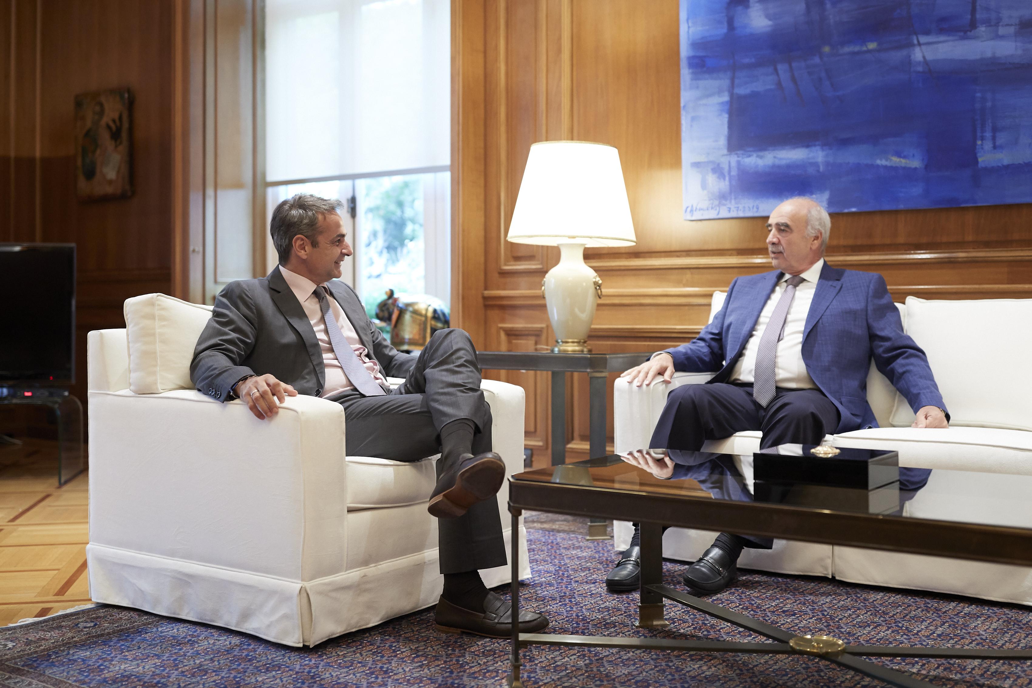 Μεϊμαράκης: Ασαφής ο τίτλος του χαρτοφυλακίου Σχοινά, τον αδικεί - Θα τον αλλάξει η φον ντερ Λάιεν