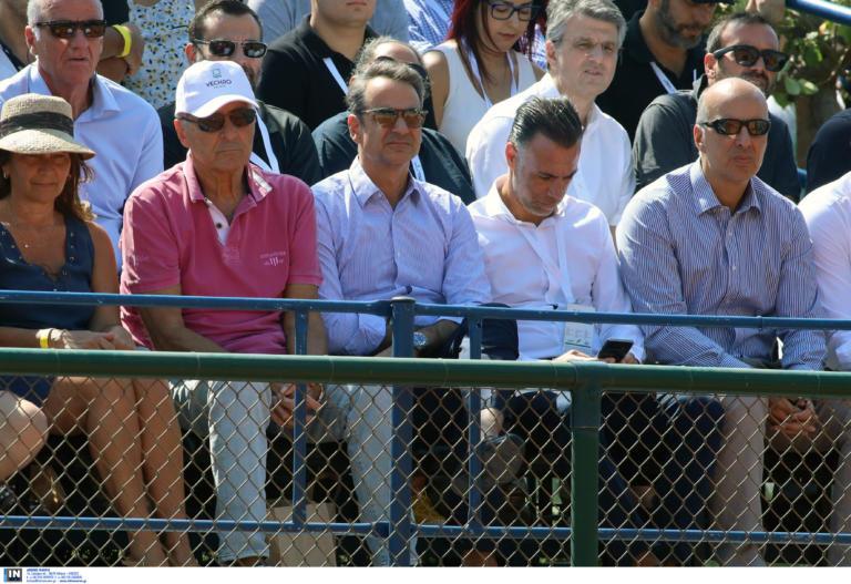 Davis Cup: Στο Τατόι ο Μητσοτάκης! Βλέπει Τσιτσιπά [pic]