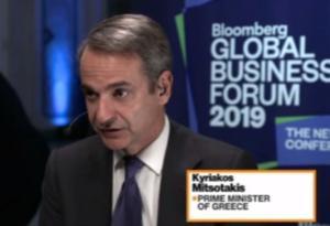 Μητσοτάκης σε Bloomberg: Win-win για Τουρκία και Ευρώπη η εφαρμογή της συμφωνίας για το προσφυγικό