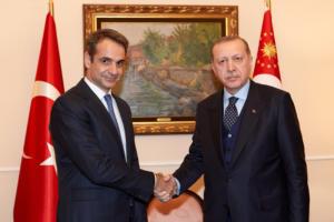 """""""Κλείδωσε"""" η συνάντηση Μητσοτάκη – Ερντογάν! Που θα συναντηθούν οι δυο ηγέτες και η """"καυτή"""" ατζέντα"""