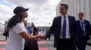 Κυριάκος Μητσοτάκης: Η επίσκεψη στη Νέα Υόρκη σε λιγότερο από δυο λεπτά