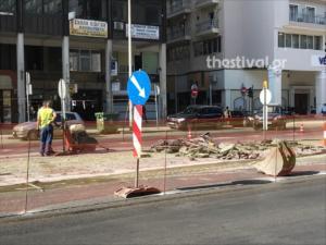 Θεσσαλονίκη: Δύο λωρίδες κυκλοφορίας σε τμήμα της οδού Μοναστηρίου – Σε εξέλιξη τα έργα!