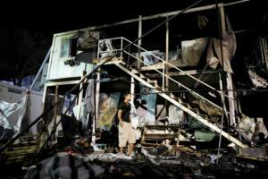 Τραγωδία στο Καρά Τεπέ στη Μυτιλήνη! Γυναίκα κάηκε ζωντανή μέσα σε κοντέινερ