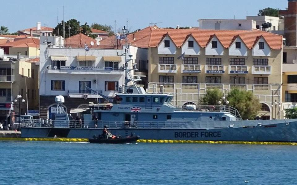 Μυτιλήνη: Διαρροή λαδιών στο λιμάνι από πλοίο της Frontex