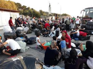 Μυτιλήνη: Επιχείρηση μετακίνησης 1.500 προσφύγων!
