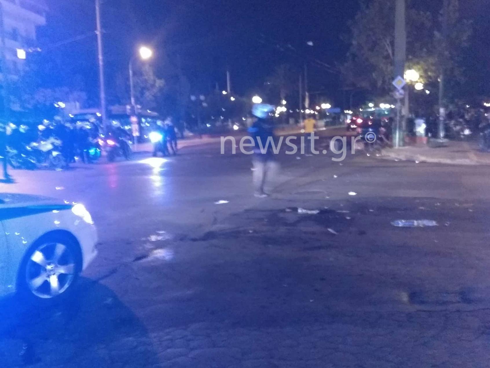 Έξι αστυνομικοί τραυματίες σε δυο επιθέσεις στη Νέα Φιλαδέλφεια