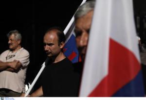 ΠΑΜΕ: Διαμαρτυρία στην Χαλκοκονδύλη για τις αυξήσεις στην ΔΕΗ