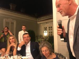 Ο Παπανδρέου σε δείπνο προς τιμήν του Ιμάμογλου στο σπίτι των Ινονού