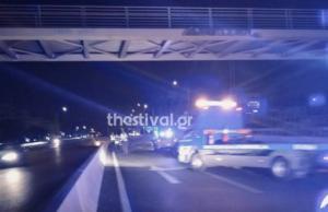 Θεσσαλονίκη: Θανατηφόρο τροχαίο – Αυτοκίνητο παρέσυρε 30χρονο