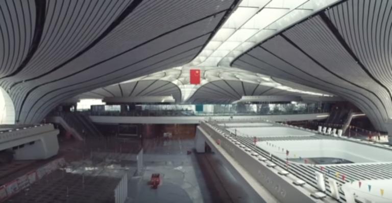 Αντίστροφη μέτρηση για τα εγκαίνια στο καινούργιο αεροδρόμιο του Πεκίνου – Video