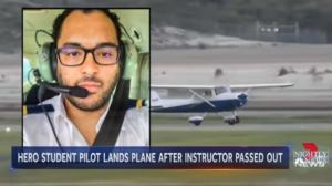 Απίστευτο! Λιποθύμησε ο εκπαιδευτής, προσγείωσε το αεροσκάφος ο μαθητευόμενος πιλότος! video