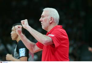 """Μουντομπάσκετ 2019: – Πόποβιτς: """"Δεν είναι ντροπή που χάσαμε το χρυσό"""""""