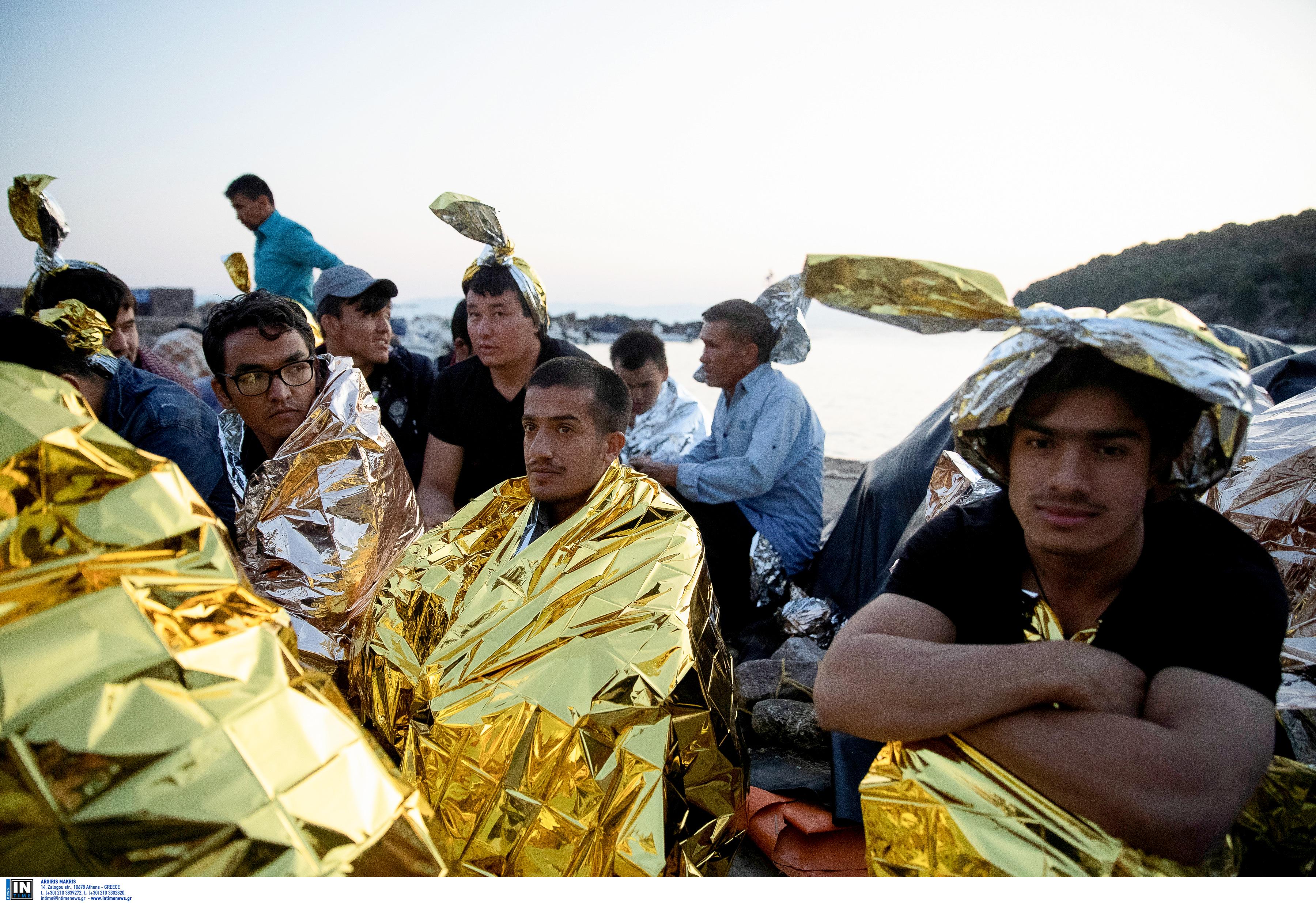 """Λέσβος: Προσφυγικό ώρα μηδέν – Νέες αφίξεις από τα τουρκικά παράλια – """"Ασφυξία"""" στη Μόρια!"""