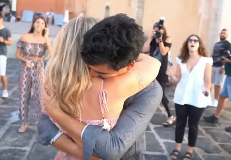 Χανιά: Πρόταση γάμου υπερπαραγωγή – Τα πάντα άλλαξαν από τη μια στιγμή στην άλλη – video