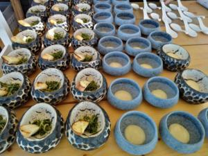 """Φάτα πριν μας… """"φάνε""""! Ξενικά είδη ψαριών μαγειρεύτηκαν από σεφ στη Σαντορίνη"""