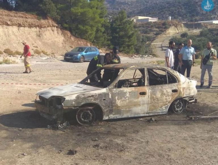 Ρόδος: Απανθρακωμένο πτώμα μέσα σε αυτό το αυτοκίνητο – Φρικτός θάνατος υπό μυστηριώδεις συνθήκες [pics]