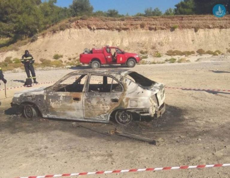 Ρόδος: Ανατριχιαστικά στοιχεία πίσω από το απανθρακωμένο πτώμα σε αυτό το αυτοκίνητο – Η απόγνωση από τα οικονομικά προβλήματα [pics]