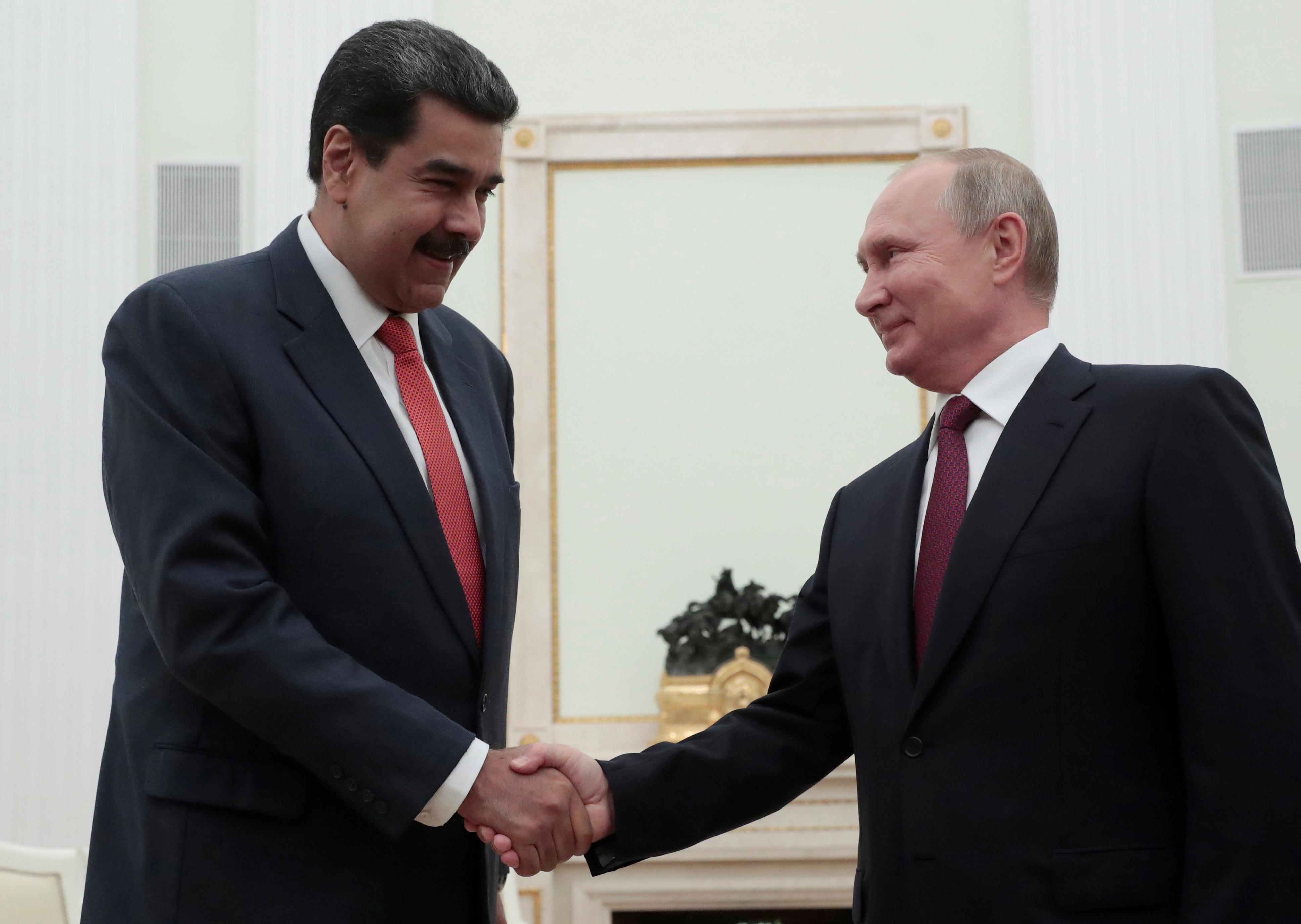 Ο Πούτιν στηρίζει Μαδούρο και στέλνει 600.000 τόνους σιτάρι στη Βενεζουέλα