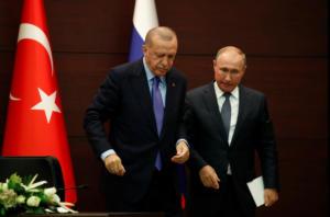 Τα βρήκαν Πούτιν – Ερντογάν για συναλλαγές με τα εθνικά τους νομίσματα!