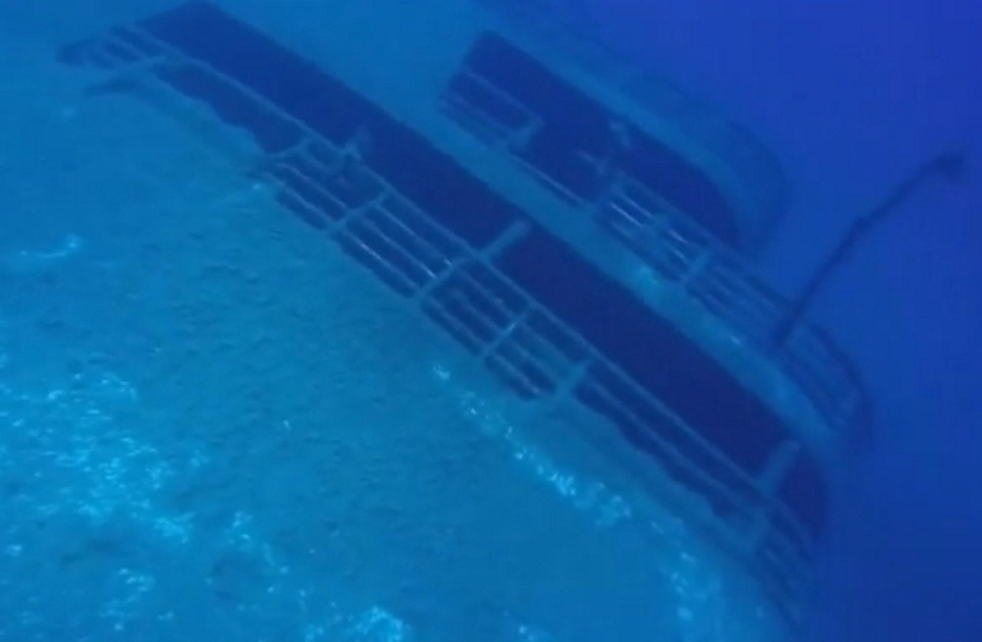 Πάρος: Διαρροή καυσίμων από το κουφάρι του Εξπρές Σάμινα 20 χρόνια μετά το ναυάγιο!